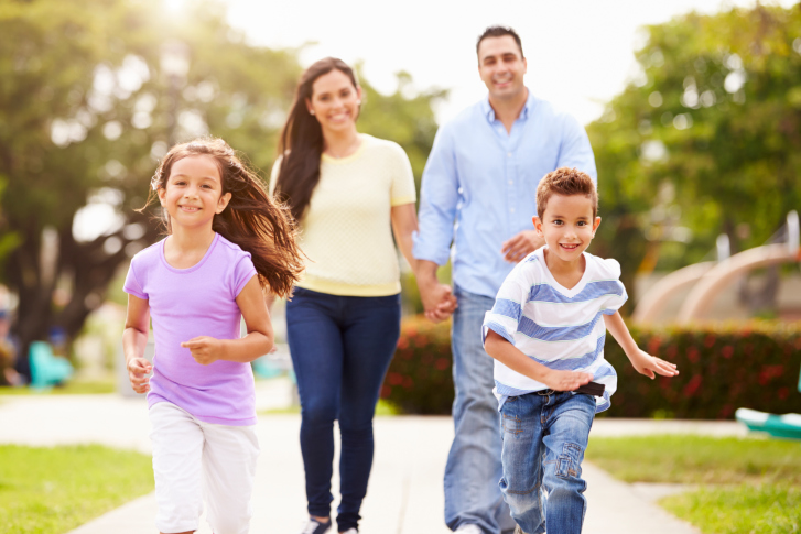 Fun physical activity ideas for the whole family to enjoy! http://blog.healthadvocate.com/?p=2840